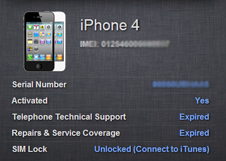 unlock iphone 4 imei free