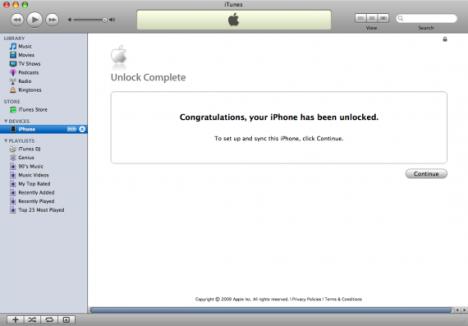 AT&T iPhone Unlock