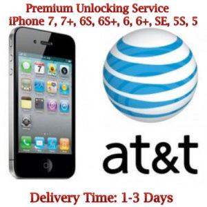 AT&T iPhone 7, 7 Plus, 6S Unlock