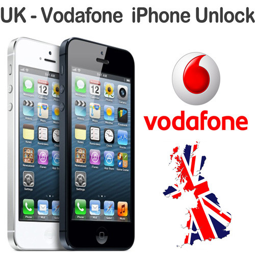 Vodafone UK iPhone X, 8 Plus, 8, 7 Plus, 7 IMEI Unlock