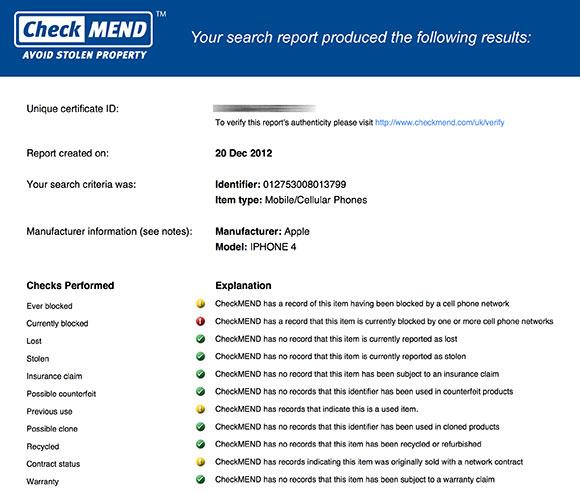 CheckMEND-Report