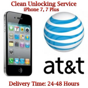 att iphone 7 clean unlock