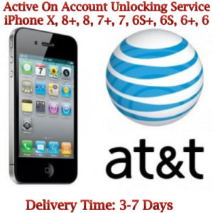 AT&T Active on Account Unlock Service