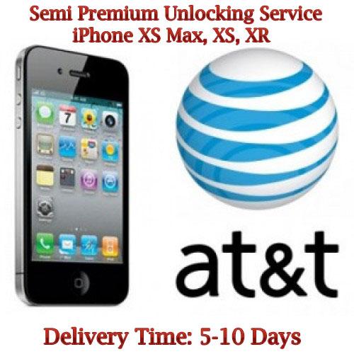 iPhone XS Max, XS, XR AT&T Unlock Service