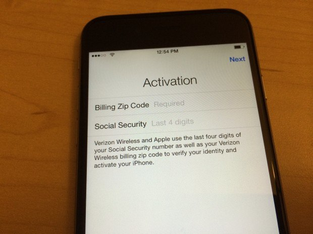 how to activate iphone verizon at amp t iphone 5 5c 5s 6 6 7 7 plus 6s 6s zip code amp ssn 17063